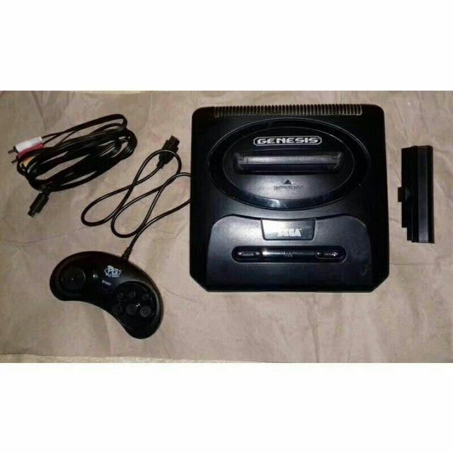 Sega Genesis 2 com cabo rca,controle novo e fonte bivolt