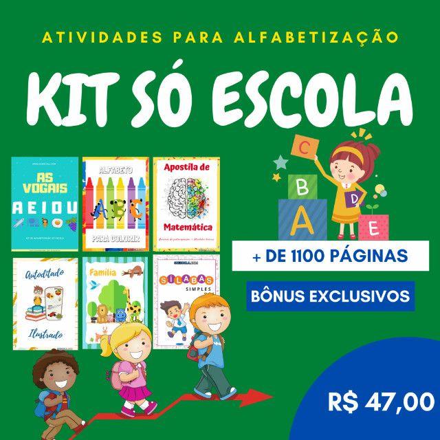 .:: Kit de Atividades Alfabetização Infantil :: - Foto 2