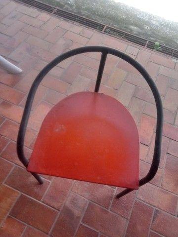 40 cadeiras de tubo industrial 7/8 - Foto 4
