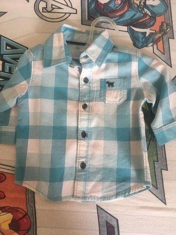 Camisas infantis masculinas