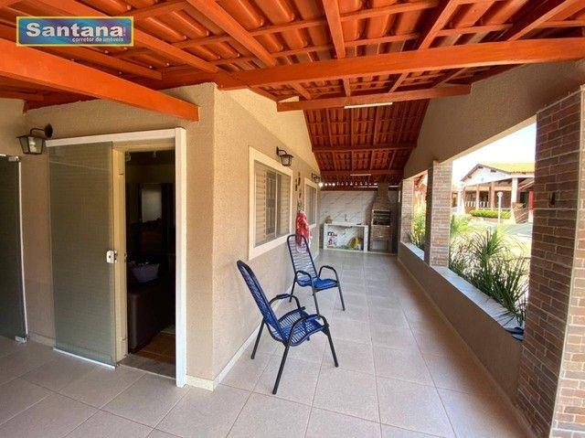 Chale com 4 dormitórios à venda, 160 m² por R$ 220.000 - Mansões das Águas Quentes - Calda - Foto 3