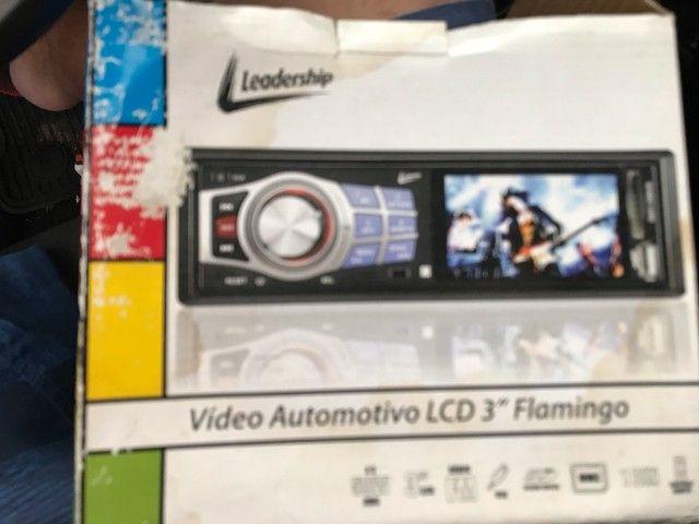 Rádio automotivo com lcd USB controle  - Foto 2