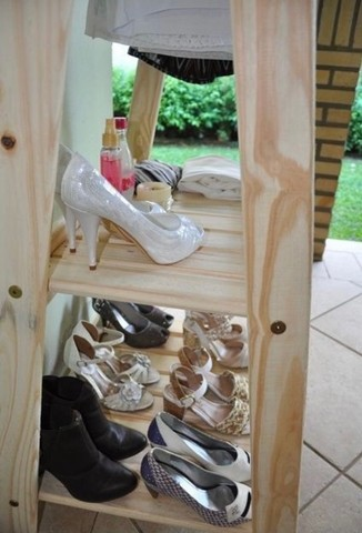 Arara de madeira pinus - Foto 3