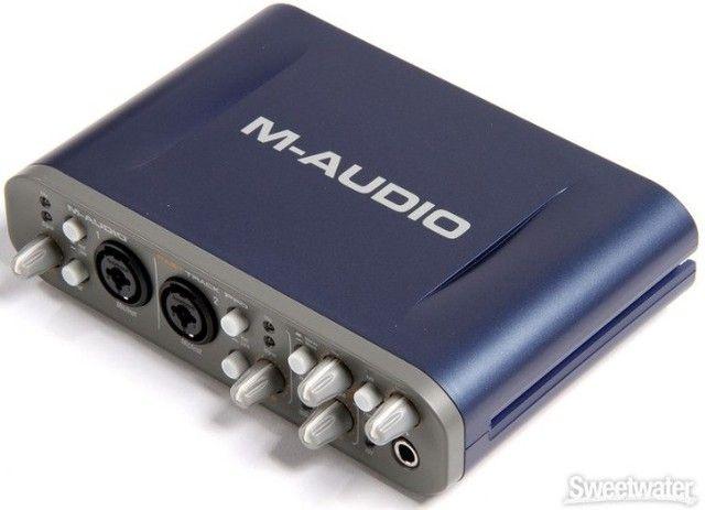 M-audio Fast Track Pro (com Caixa Original E Protools) - Foto 2