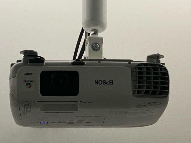 Projetor Epson Powerlite S27 3LCD SVGA HDMI 2700 Lumines - Foto 2