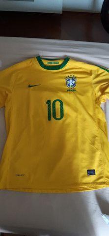 Camisa Seleção Brasil 2010