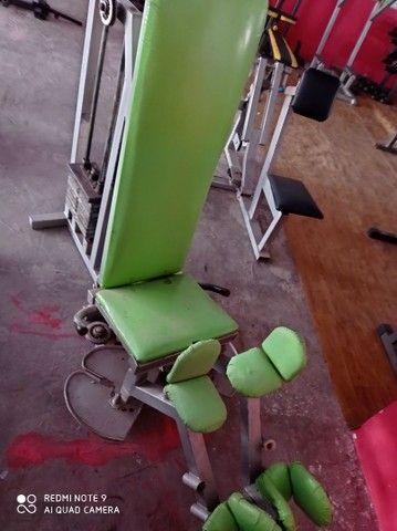 Máquinas de musculação