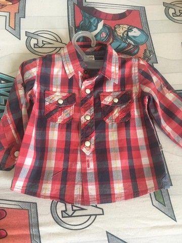 Camisas infantis masculinas - Foto 4