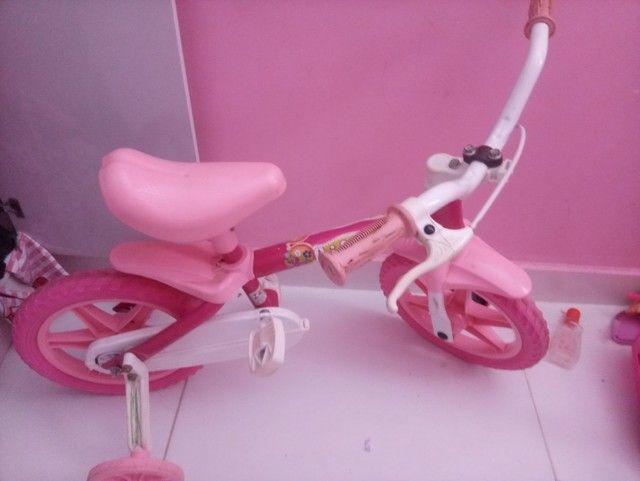 Bicicleta para menina de 1 a 3 anos - Foto 2