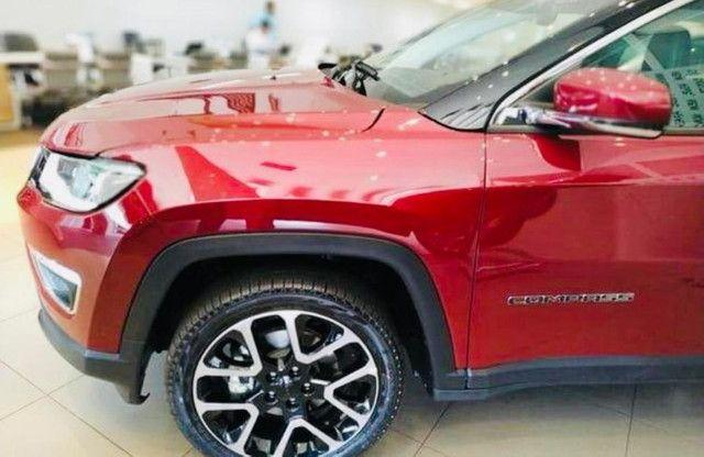 Jeep Compass Limited Flex 2021 Okm A Pronta Entrega Melhor Preço da Baixada !!! - Foto 12