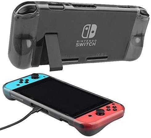 Capa Protetora Silicone Tpu Ultra Fino e Anti-Risco Para Nintendo Switch - Foto 4