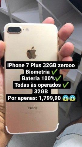 Oportunidade iPhone 7 Plus 32 GB última unidade  - Foto 2