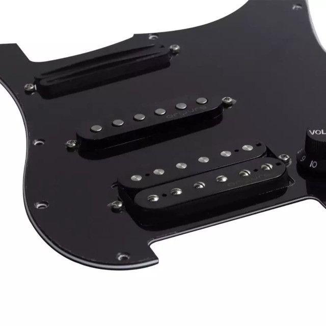 Escudo Prewired Captadores Guitar Oripure Hss Alnico5 Strato - Foto 2