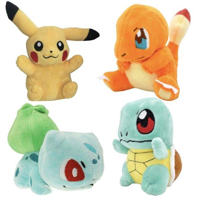 KIT com 4 Pokemons