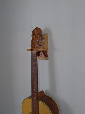 Suporte de Violão, Guitarra, Ukulele, Cavaquinho em Madeira