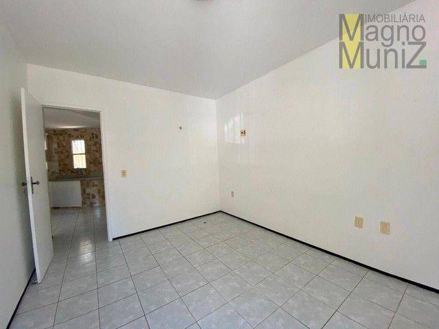 Apartamento com 1 dormitório para alugar, 60 m² por R$ 1.000,00/mês - Patriolino Ribeiro - - Foto 9