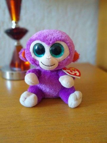 Kit Beanie Boos Zoiudos: Macaco e tartaruga Marca:TY - Foto 2