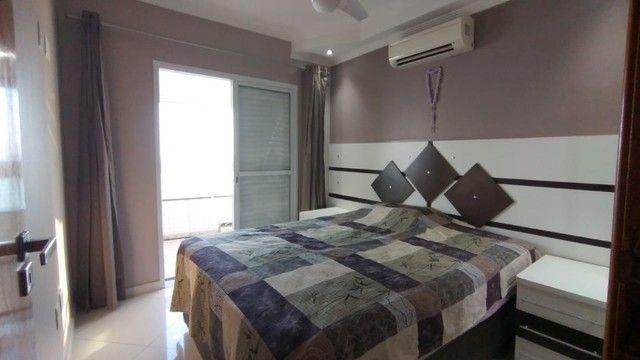 Apartamento alto padrão 3 dormitórios suítes frente mar Campo da Aviação Praia Grande - Foto 7