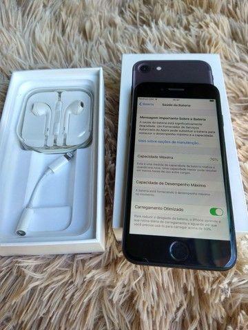 iPhone 7 128gb usado 12x sem juros - Foto 3
