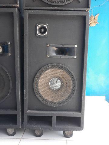 Caixa de som semi profissional - Foto 5