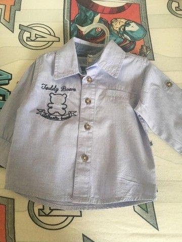 Camisas infantis masculinas - Foto 3