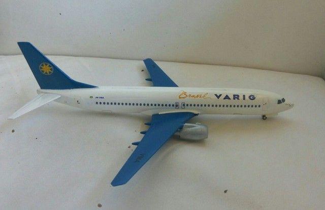 Boeing 737-800 Varig raridade