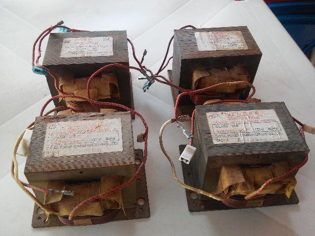 Transformador para micro ondas