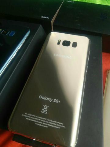 Galaxy s8+ 64gb Dourado e Prata