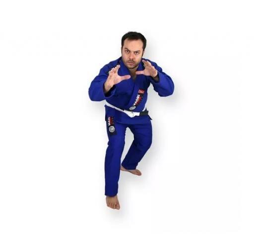 Kimono Jiu Jitsu Trançado Reforçado A2 NOVO