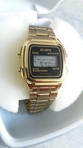 Relógio Atlantis Retrô