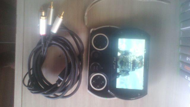 Psp go destravado com cabo componente p/TV
