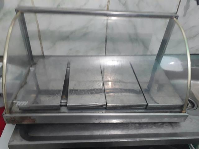 Esturfa de vidro grande