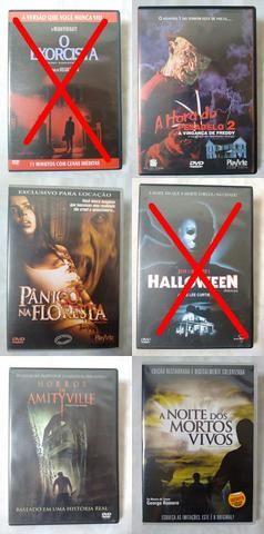 Filmes de Terror DVDs!! Promoção!!
