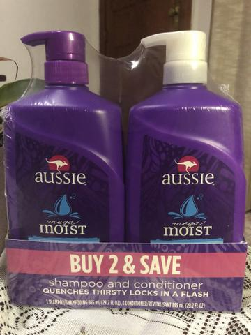 Kit shampoo + condicionador Aussie 865ml cada