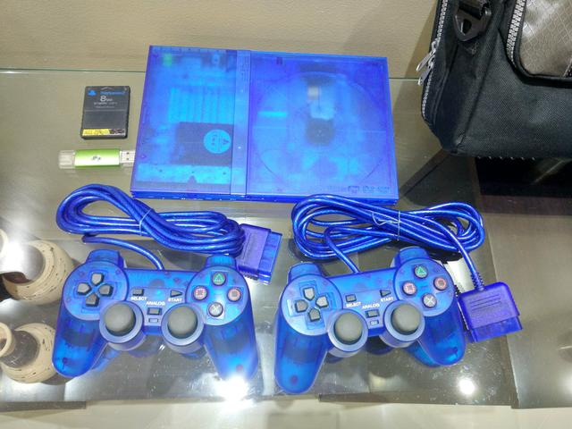 Playstation 2, customizado e completo