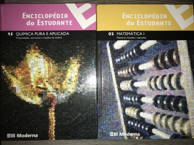 Livros Editora Moderna Química e Matemática