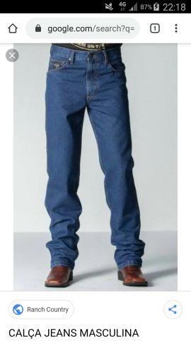 Calça jeans Tradicional corte reto ( Alguém desapegando ) masculina 44 ou 46 usada
