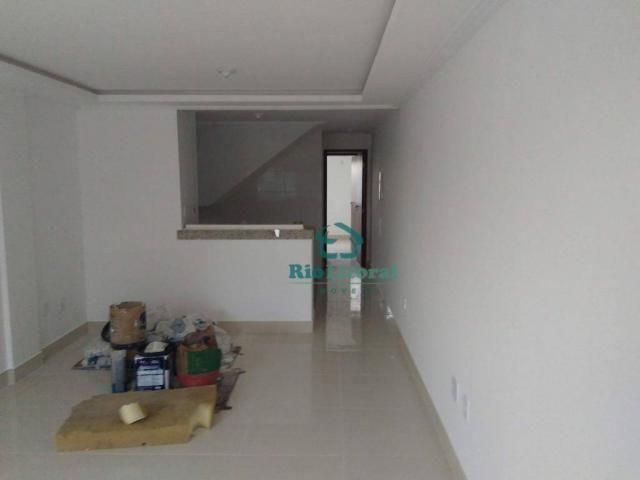 Casa com 3 dormitórios à venda, 115 m² por R$ 370.000 - Ouro Verde - Rio das Ostras/RJ - Foto 6