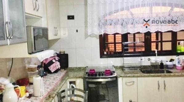 Sobrado com 3 dormitórios à venda, 220 m² por R$ 590.000 - Parque Marajoara - Santo André/ - Foto 6