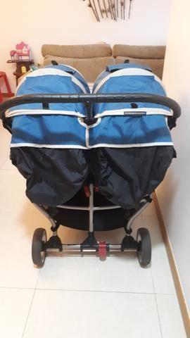 Carrinho de Bebê para Gêmeos City Mini Baby Jogger Double - Foto 3