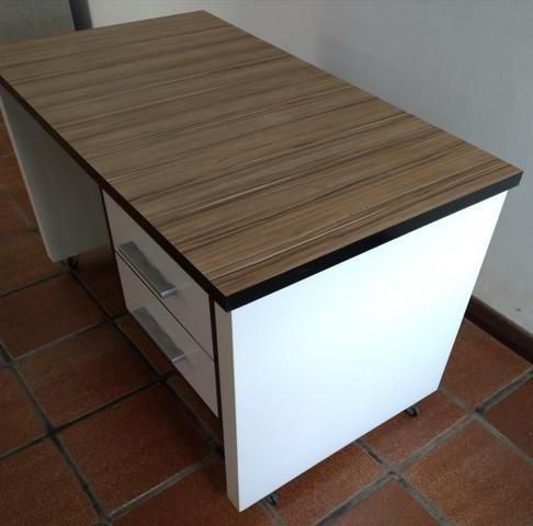 Mesa de Escritório MDF madeirado - Foto 2