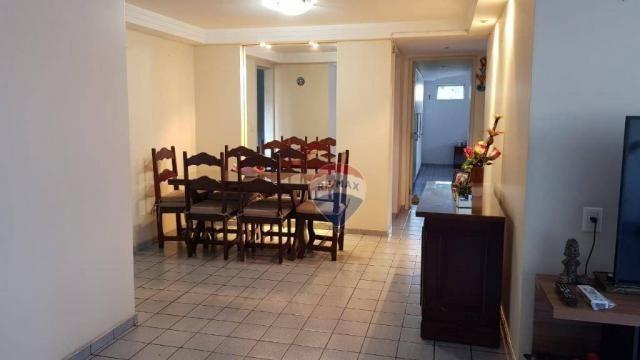 Apartamento com 3 dormitórios à venda, 106 m² por R$ 230.000,00 - Barro Vermelho - Natal/R - Foto 3
