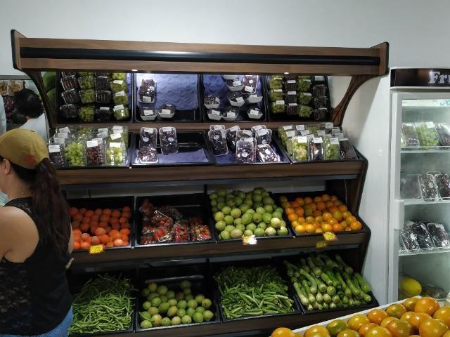 Em madeira, expositor de legumes e frutas NOVO - Foto 6