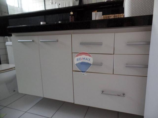 Apartamento com 3 dormitórios à venda, 97 m² por R$ 400.000,00 - Tirol - Natal/RN - Foto 10
