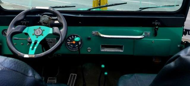 Jeep Willys 4x4 gasolina 1966/66. Muito novo. Raridade! Confira! - Foto 12