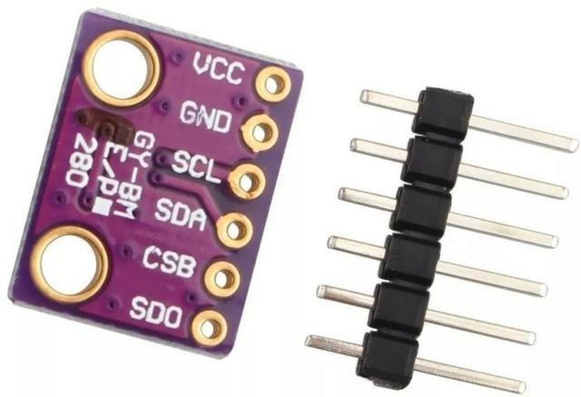 COD-AM279 Sensor Bme280 Pressão Temperatura E Umidade Gy-bm Arduino Robotica