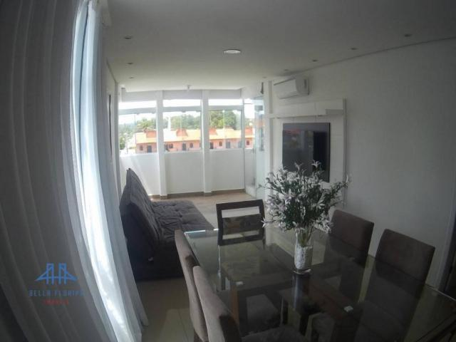 Apartamento com 3 dormitórios à venda, 78 m² por r$ 420.000 - canasvieiras - florianópolis - Foto 4