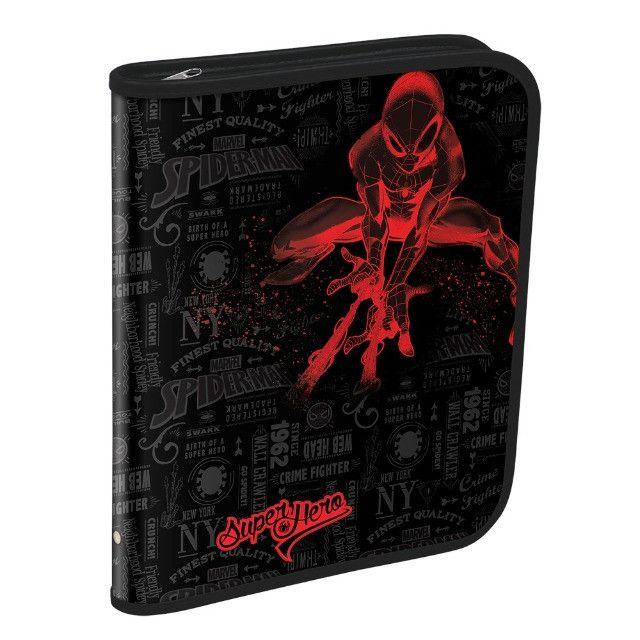 Fichário Universitário Spider-Man Grande com Ziper (Marvel) / Por R$ 97,00