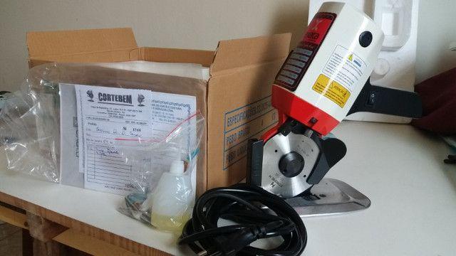 Máquina para cortar tecido profissional - Foto 5