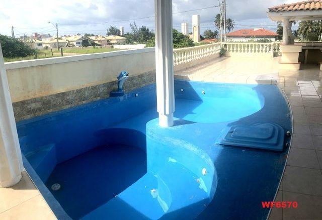 Casa duplex com 3 quartos, vista mar, 6 vagas, nascente, piscina, Bairro de Lourdes, Dunas - Foto 18